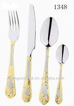Stainless steel tableware/flatware/dinner set