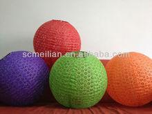 colorfull rice paper lamp shades