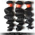 De alta calidad 100% naturales sueltos baratos de onda del pelo humano virgen de samba custume