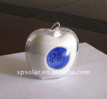 SK1084 apple shape desk digital led clock