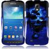 Black Skull Snap-On Cover Case For Samsung Active GT-I9252 I9295