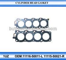 Cylinder Head Gasket for Toyota prado 4.7 1uz 11115-50021-R 11116-50011-L