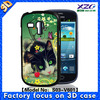 2015 cute case for samsung galaxy s3 mini with 3D image