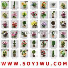 Secas arranjos florais atacadista para flores artificiais