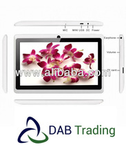 "7"" Allwinner Q88 Tablet PC Popular on Groupon and eBay"