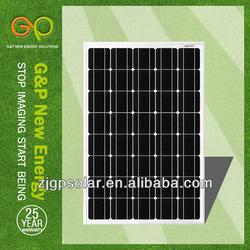 G&P Mono crystalline 90W panel solar,solar module