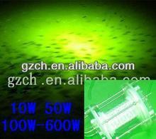 High Efficiency quality IP68 waterproof super brightness Practical Blue Green led fishing lights for fishing boat at deep sea