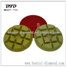 Wet diamond polishing pad for stones in 80mm