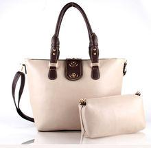 Korea fashion ladies big leather handbags,famous women Handbags