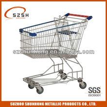heavy duty Asian style supermarket shopping trolley cart