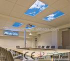 Unique space decoration and illumination LED sky ceiling panel light