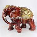 Venda quente!! Tamanho grande imitação de resina de sândalo vermelho marfim de elefante artesanato para a decoração home artesanato& presentes( xh029)
