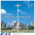 por imersão a quente de aço galvanizado leve torre pole