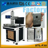 Back cover Laser Marking Machine for phone case 10W/20W/30W