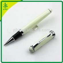 JB-LO22 Luxury gift ball pen pearl white roller ball pen