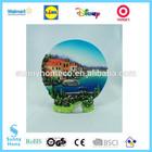 custom OEM tourist resin craft wedding souvenir plate