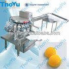 Hen egg washing&cleaning&breaking&separating machine