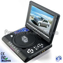 7'' dvd player with USB,Card reader