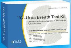 13C Urea breath test analyzer for H.Pylori infection