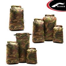 TPU coated Ripstop Nylon Camouflage Waterproof Bag