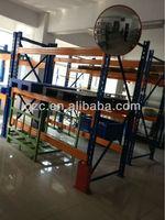 Heavy duty metal rack with shelf & storage rack with steel plate