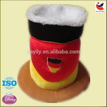 hot sale comb plush carnival hat party hat oktoberfest hat