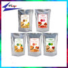stand up ziplock pouches nuts and dried fruits packing