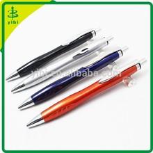 CGB-Y041 2014 advertisement click fat barrel plastic ball pen