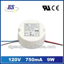 9W AC-DC Constant Current LED Driver with Triac Dimmer (UL, cUL)