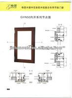 Factory Price Aluminium Doors And Windows/PVC/Wood Windows Sale