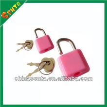 plastic heart diary lock and key