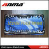 Fashional USA decorative blank\Custom car license plate frames