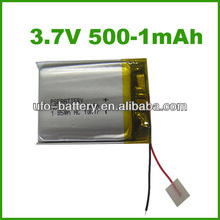 3.7v 500mAh lithium ion battery manufacturers,lithium metal,lithium battery detector for portable devices