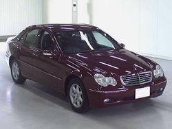 2002 MERCEDES BENZ C200 KOMPRESSOR Usedcar from Japan FOB US$3,300