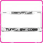 Custom license plates frames