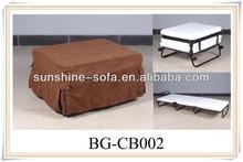 Hotel Metal Foam Folding Chair Bed