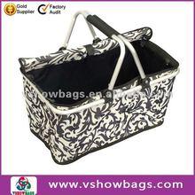 2012 Hot Style Oxford folding shopping basket