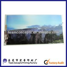 Custom 3d Landscape Postcard