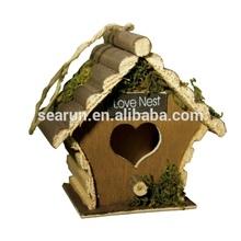 2014 Bird House wood,Antique Wooden Bird House,