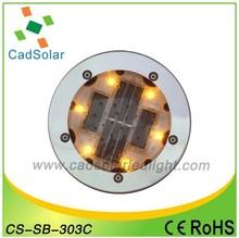 2014 Hot Sale Solar LED Ground light CS-SB-303C with Diameter100mm