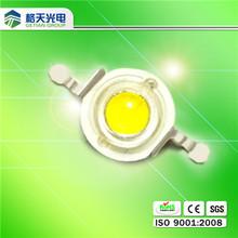90-160LM/W Bridgelux/Epistar White Energy Star LM-80 1W High Power LED