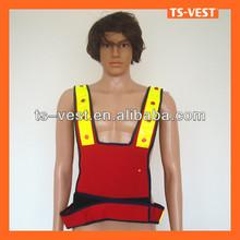 Led safety vest for policeman