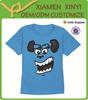 High Fashion Blue Cheap Custom Wholesale Funny T-shirts