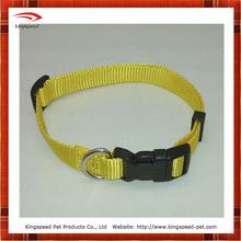 Classic Plain yellow Nylon pet item
