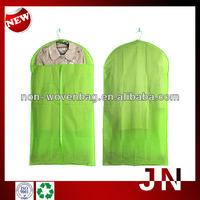 Handmade Non-woven Suit Cover Garment Bag With Zipper, Non Woven Coat Bags