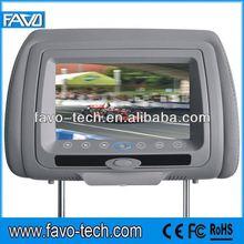 Digital 7 inch Car Headrest with wireless games