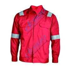 whosale good quality EN 11611 FR welder jacket