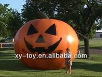 giant outdoor halloween decoration inflatable pumpkin balloon