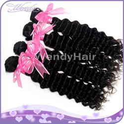 Wholesale 5A Grade Remy Human hair brazilian deep curly hair