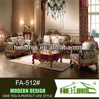 FA-512#italian classic sofa pictures wood sofa furniture/solid wood furniture/wood furniture design sofa set